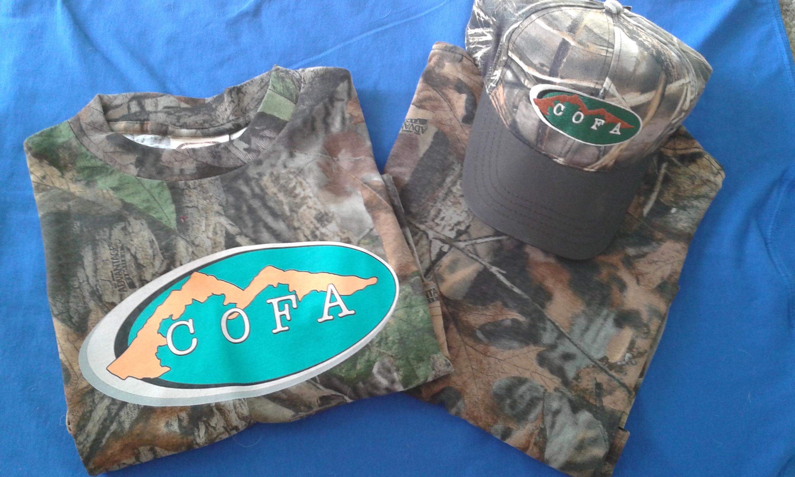 COFA Camo Design T-Shirt