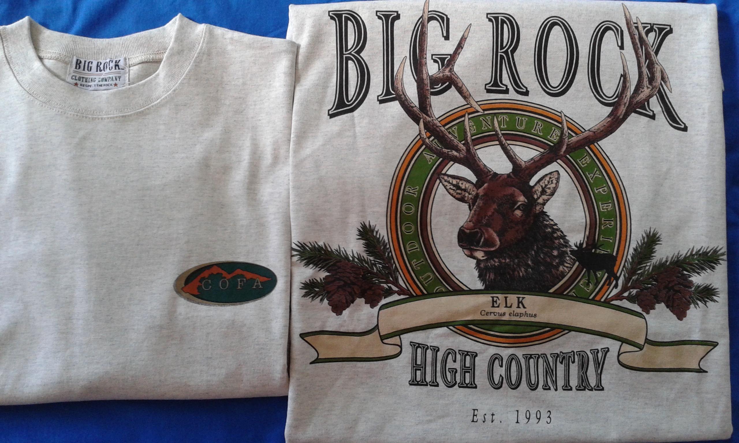 COFA Big Rock Elk T-Shirt
