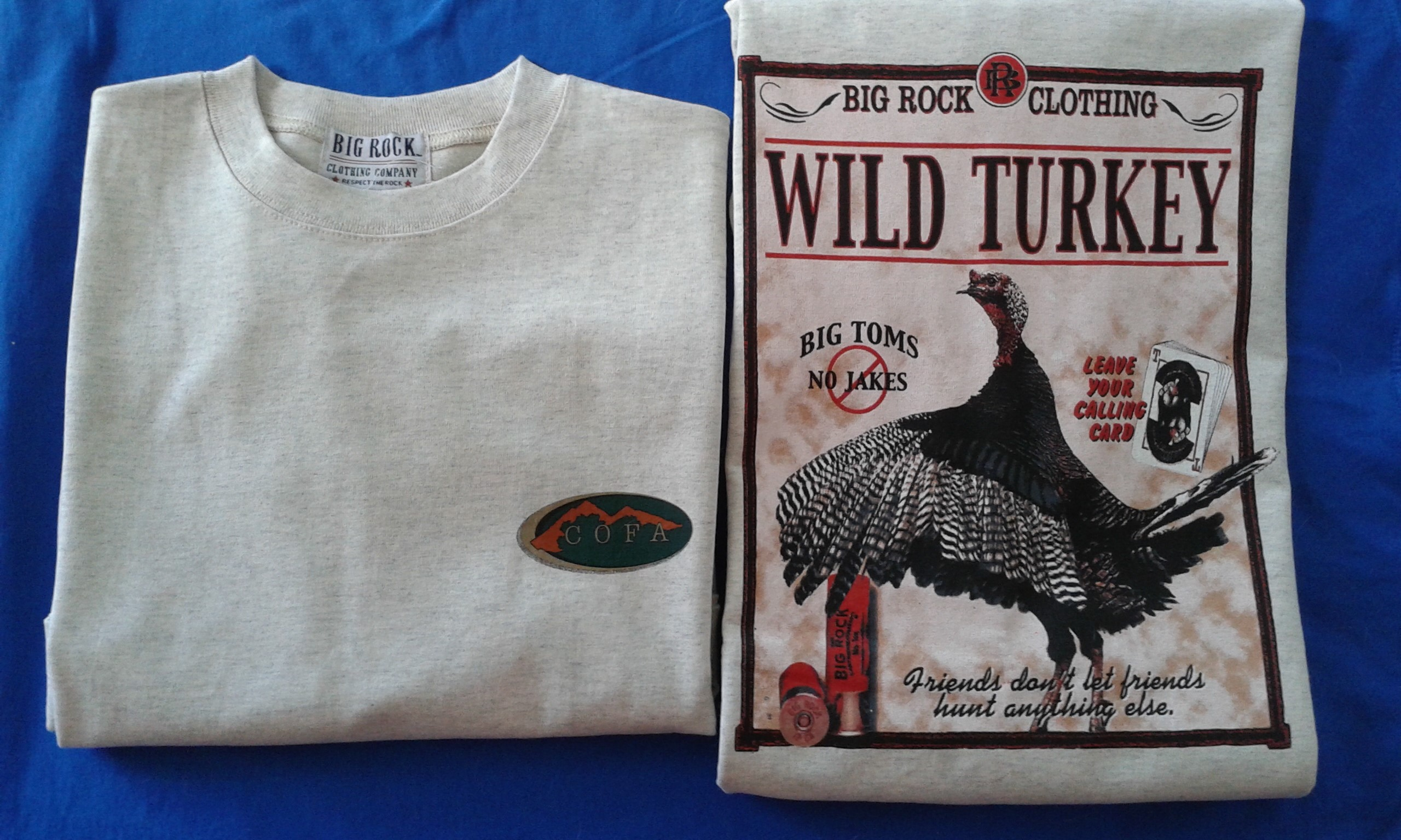 COFA Big Rock Wild Turkey T-Shirt