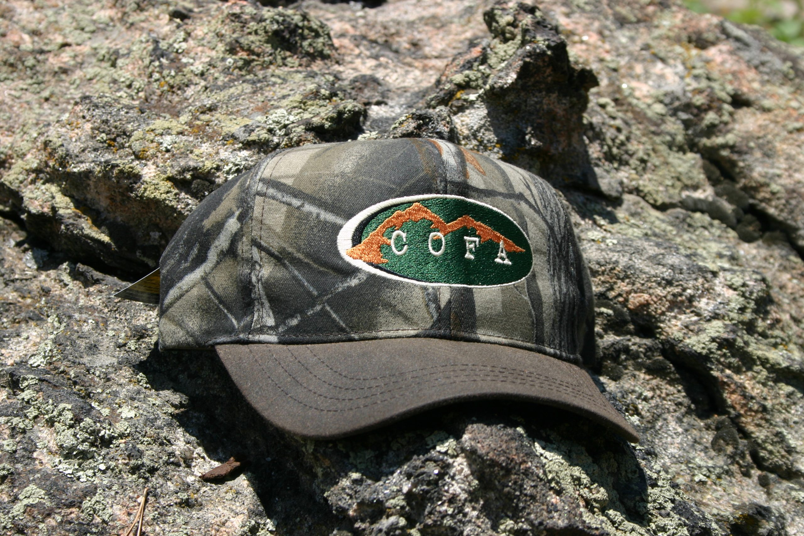 COFA Official Woodland Camo Ball Cap